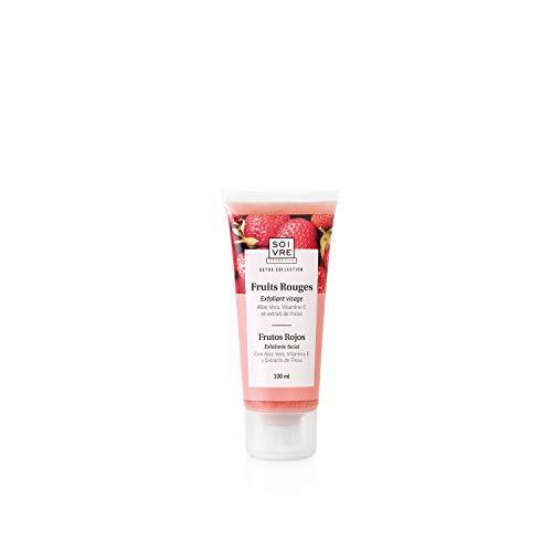 Soivre Cosmetics, Exfoliante facial (Frutos Rojos) - 100 ml.