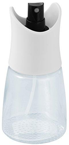 Fackelmann FackelmannSpray Spray Aceite o Vinagre, Transparente, Negro y Blanco, Ø6,5x14cm