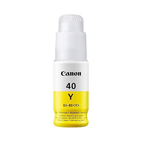 Canon GI40Y Adecuado para G5040 Tinta Amarillo 3402C001 70ml 7700 Hojas