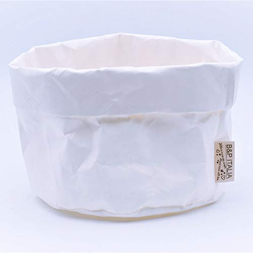 MDF B /& P Italia S//2/Juego de 2/ba/úles Decorativos Cuadrados Talla /única revistero Blanco