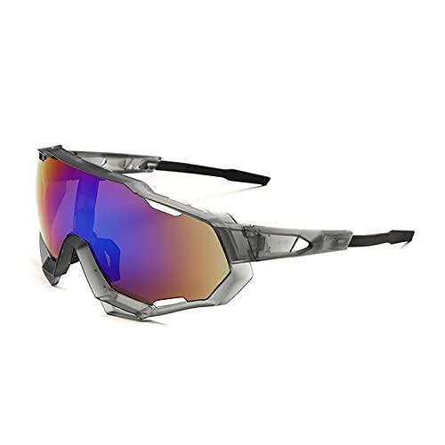 HGJINFANF Gafas de Sol deslumbrantes for Hombres, Gafas de Ciclismo, Gafas de Sol Deportivas polarizadas, Hombres y Mujeres UV Protección, Adecuada for la conducción y Corriendo el béisbol.