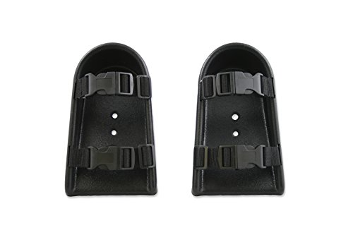 Wheelchair Shoe Holders with Adjustable Straps