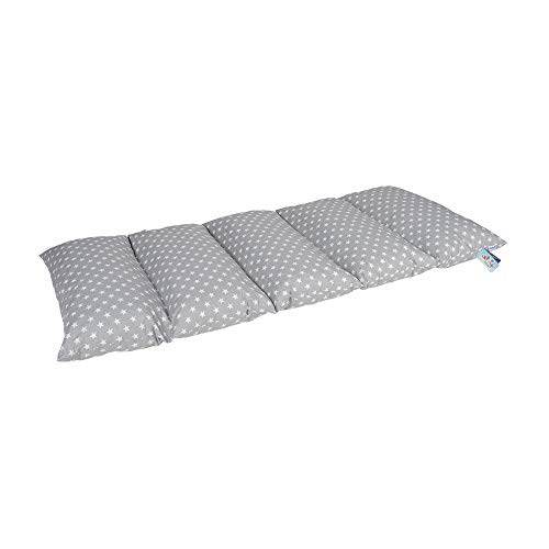 Knorrtoys 68800 - Pillowpad - grey with white dots - Klappmatratze