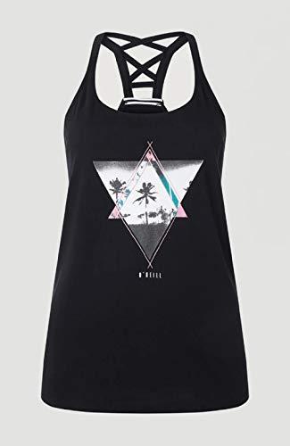 O'NEILL LW Beach Angel Tanktop Camiseta Sin Mangas Tanktop para Mujer, Mujer, Black out, M