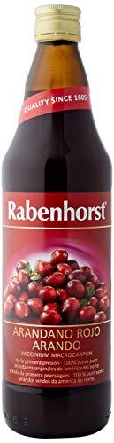 Rabenhorst Zumo De Arandano Rojo Americano 750 Ml Botella De 750 Ml 200 g