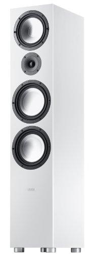Canton GLE 496 3-Way Bass Reflex Stand Lautsprechersystem weiß