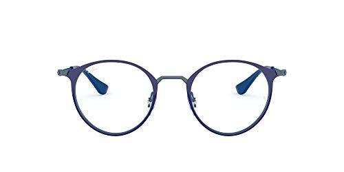Ray-Ban Marcos de gafas de prescripción redondos de metal para mujer Rx6378f