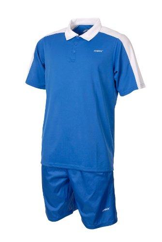 Max Abbigliamento Sport Tennis Tempo Libero Completo Adulto Wimbledon Kit Uomo Royal Bianco Taglia S