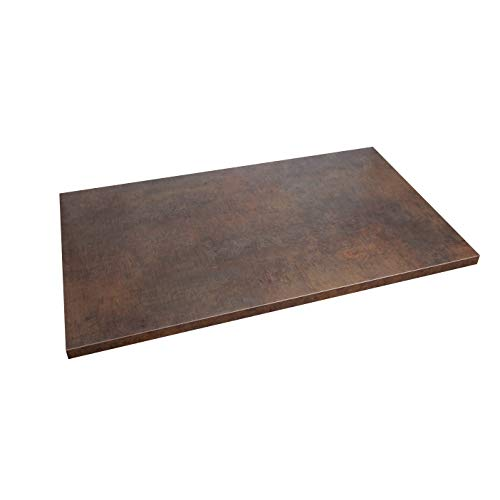 WORKTOPEXPRESS Arbeitsplatte Kupfer Industrial Style, Westag & Getalit Küchenarbeitsplatten (3000mm x 600mm x 39mm)