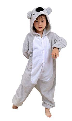 SAMGU Kinder Tier Schlafanzug Kigurumi Pyjamas Kostüm Overall Karneval Cosplay Tierkostüme Koala