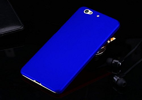 Case Creation Matte Rubberized Finish Frosted Hard Back Shell Case Cover Guard Protection for Gionee Elife S6 / Gionee S6 (Blue)