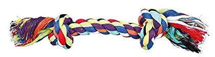 Baumwollgemisch Geeignet für die Gebissstärkung Erhältlich in verschiedenen Größen Geeignet für mittelgroße Hunde