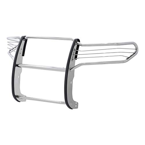 ARIES 2067-2 1-1/2-Inch Polished Stainless Steel Grille Guard, No-Drill, Select Toyota Sequoia, Tundra