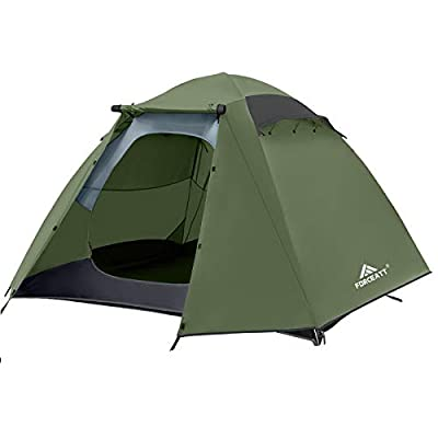 Forceatt 4 Person Camping Tent, Professional Waterproof & Windproof. Lightweight Backpacking Tent Suitable for Glamping,Hiking, Outdoor, Mountaineering and Travel