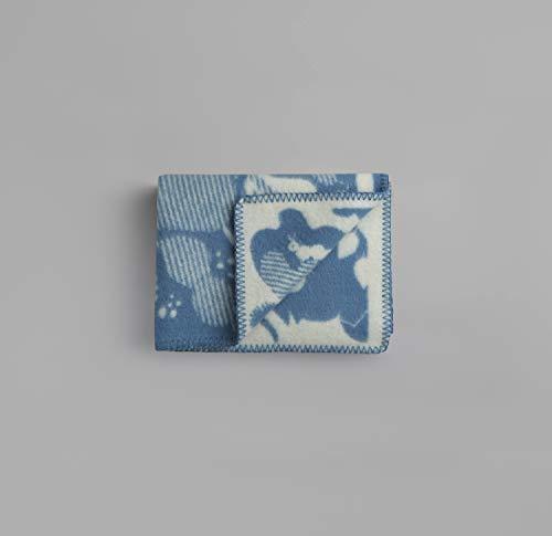 Røros Tweed byHands Skogbunn babydeken wollen deken | Knuffeldeken uit Noorse lamswol | Design van Darling Clementine | Plafondmaten: 100x67cm - 1152-B