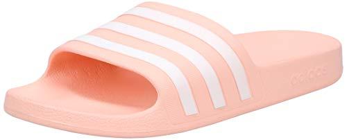 adidas CORE Women Adilette Aqua Badeschuh, Glopnk Ftwwht Glopnk, Gr.- 40 2/3 EU