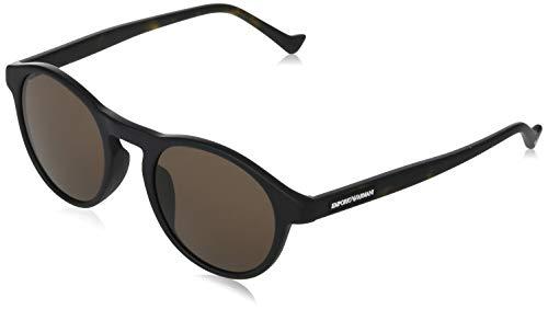 Gafas de sol Emporio Armani EA 4138 F Ajuste Asiático 501773 Negro Mate
