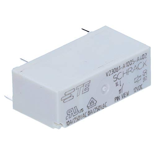 Schrack V23061A1005A402 2-1393222-3 MS Relais, 1 Schließer 8 A 250 V AC / 12 V DC