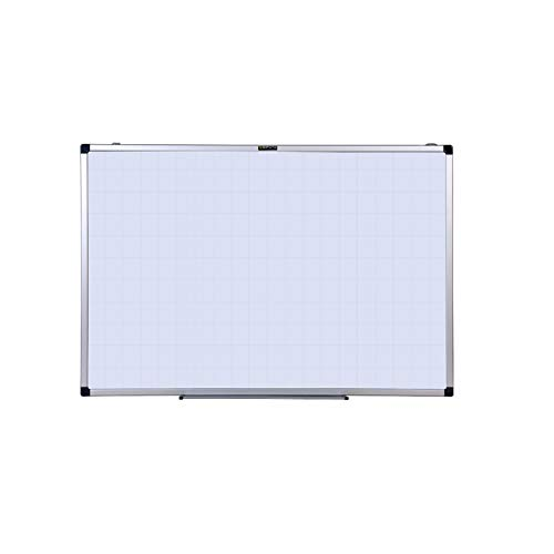 Whiteboard Shuai- Tableau Blanc avec Surface Magnétique Et Inscriptible Tableau Effaçable à Sec avec Cadre en Aluminium, Fente pour Stylo Et Crochet Mobile 3 Tailles(Size:45x60cm)