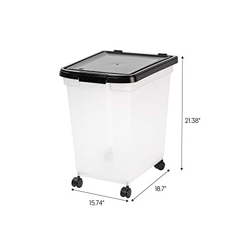 IRIS USA Airtight Food Storage Combo with Scoops