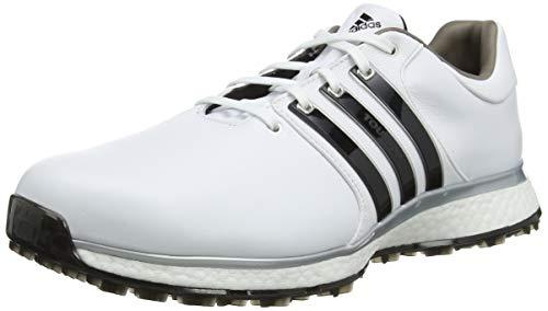 adidas Herren Tour360 Xt-sl(Wide) Golfschuhe, Weiß (Blanco/Negro F34990), 44 EU