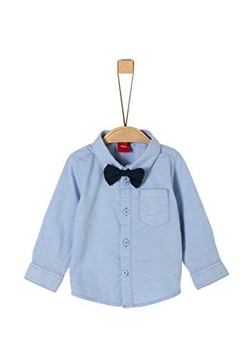 s.Oliver Baby-Jungen 65.911.21.4233 Hemd, Blau (Blue 5312), (Herstellergröße: 86)