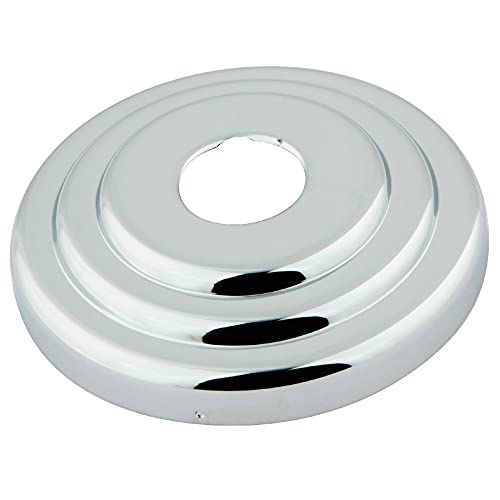 Kingston Brass FLCLASSIC1 Nuvofusion Made to Match Decor Escutcheon, 3-Inch, Polished Chrome
