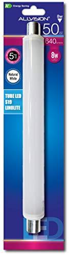 Tube LED S19 Lumière Naturelle 8W