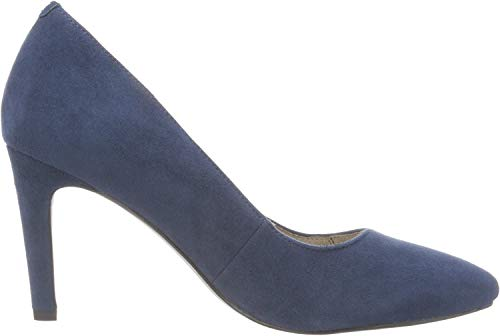 Tamaris Damen 22473 Pumps, Blau (Navy), 37 EU