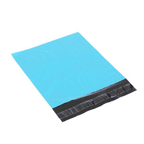 XSY Busta Non-imbottito Buste Sacchetti Plastica Blu Poly Mailer Larghezza 11 - 32 cm x Lunghezza 18 - 39 cm Multi Taglia e Quantità 250 x 300mm+50mm
