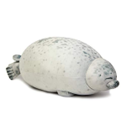 Angry Blob Seal Kussen Mollig 3D Pop Pluche Knuffel, Baby Slapen Sierkussen Cadeaus Voor Kinderen Meisjes 40 Cm B