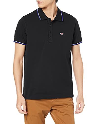 Diesel T Randy New T-Shirts & Poloshirts Herren Black - M - Polohemden