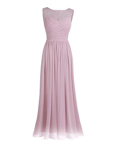 iEFiEL Damen Abendkleider elegant Hochzeitskleid Cocktailkleid Chiffon Festlich Festkleid Langes...