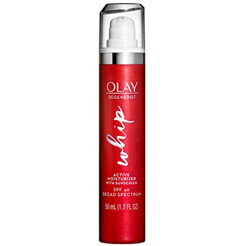 Olay Regenerist Whip Face Moisturizer with Sunscreen SPF 40, 1.7 Fl Oz