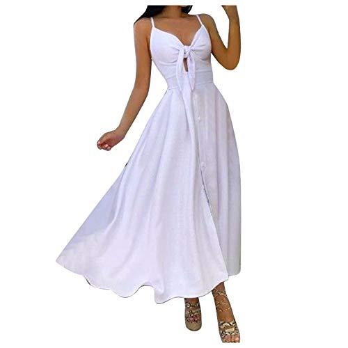 Nuevo 2021 Vestidos largo para Mujer, Elegante Fiesta Moda Vestido de Cóctel Vestido de Noche Vestir Color...