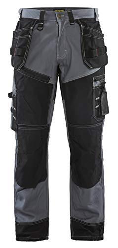 Blåkläder 15001370 Werker Hosen X1500, Grau / Schwarz, C52