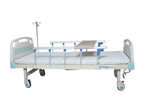 Multifunktionales Manuelles Pflegebett, Manuell Einstellbarer Medizinischer Patient Nutzen Krankenhausbett