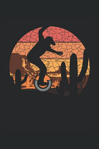 Monociclo elettrico stile vintage: Quaderno foderato Journal, Notepad College Ruled, Medium Ruled ToDo Exercise Book, ad esempio per l'esercizio, o Diario (15x22cm) con 120 pagine.