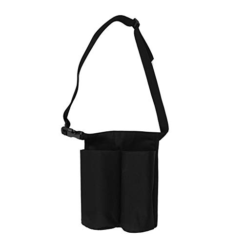 Review Of DEALPEAK Adjustable Black Massage Bottle Holster Bag Massage Lotion Massage Oil Waist Hang...