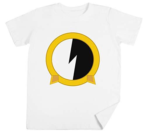Protoshirtexe Kinder Unisex Jungen Mädchen Weiß T-Shirt Kids Unisex T-Shirt