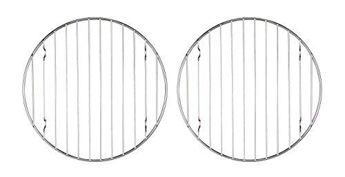 Mrs. Andersons Baking 43193 Mrs. Anderson's Baking Professional Round Baking and Cooling Rack, 6-Inches, Set of 2