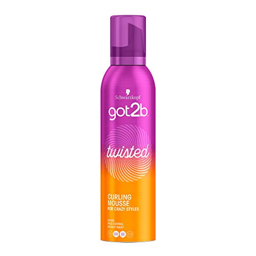 Got2b - Espuma Twisted Rizos Óptimos – 3uds de 250ml (750ml) – Aporta...