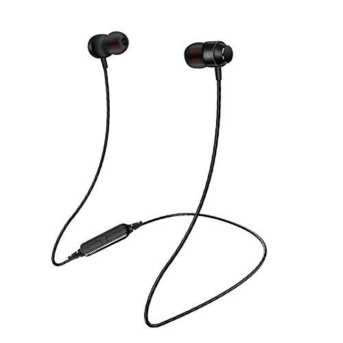 ALIKEEY Kabellose Kopfhörer Sport Magnetic Suction Wireless Bluetooth V4.1 mit Mikrofon Neu Ohrhörer für iPhone, iPad, Samsung, Huawei, xiaomi und mehr