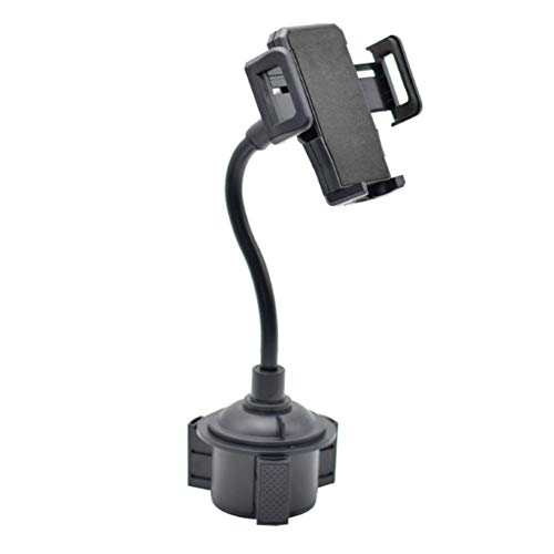 USNASLM Universal 360 grados ajustable coche teléfono montaje cuello de cisne taza titular soporte teléfono móvil titular