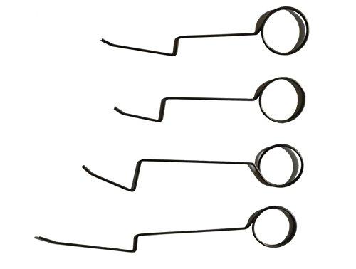 Picklock24 Türfallen-Öffnungsnadeln (Set aus 4 Nadeln)
