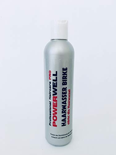 Powerwell Birken Haarwasser - 250 ml ! - Made in Deutschland