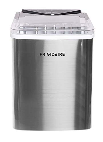 Frigidaire EFIC123-SS Counter Top Maker, Produces 26 pounds Ice per Day, Stainless Steel
