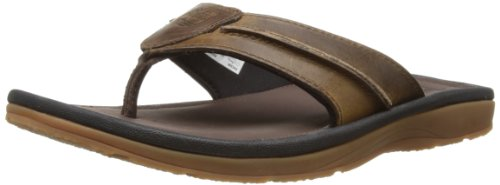 Timberland Herren Originals Sandals Thong Zehentrenner, Braun (Brown Oiled), 41.5 EU