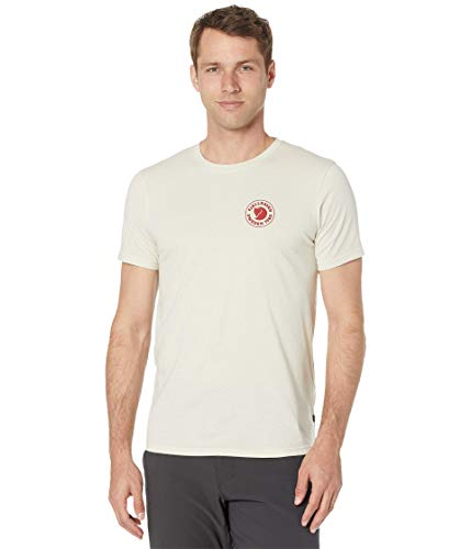 Fjallraven 1960 Logo T-Shirt Mens, Chalk White, XL