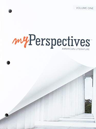 Myperspectives English Language Arts 2017 Student Edition Volumes 1 & 2 Grade 11